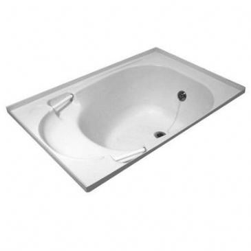 Caravan/Motorhome BATH C/W WASTE FITTING WHITE